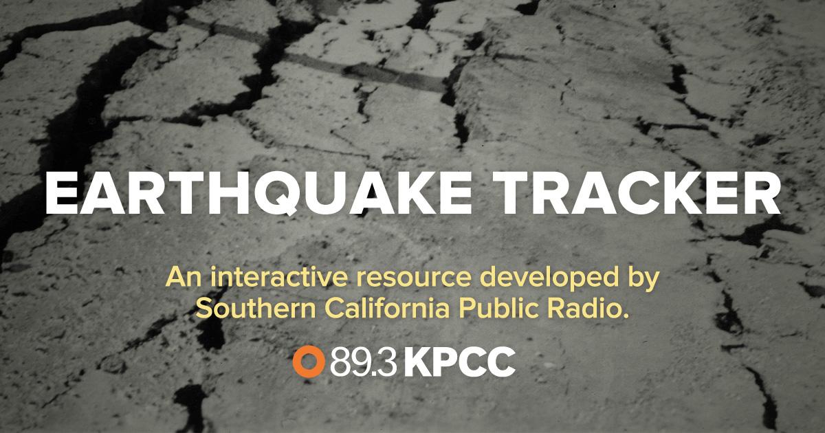 Earthquake Tracker